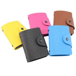 信发(TRNFA) TB-1-01 (黑色) 高级皮面卡皮包男女多卡位卡包 银行卡套 商务名片册名片夹时尚防消磁卡包