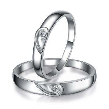 一搏千金(YBQJ)EG009 PT950铂金男10分女10分 钻石对戒 钻戒 结婚戒指 钻石婚戒 订婚戒