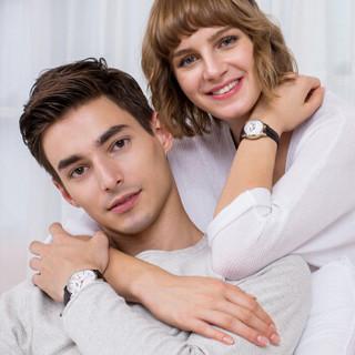 斐乐(FILA)手表女款32mm白表盘玫瑰金边皮带欧美石英女士手表 FLL38-794-003
