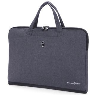 维多利亚旅行者 VICTORIATOURIST 电脑包15.6英寸防水手提笔记本电脑包内胆包V7015灰色