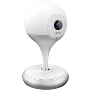 爱耳目(iermu)智能摄像头 无线远程wifi网络监控摄像机 精灵球 720P 银
