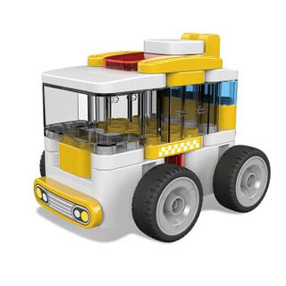 葡萄科技 百变布鲁可大颗粒积木 儿童玩具 男孩女孩拼装玩具车  儿童礼物 迷你巴士