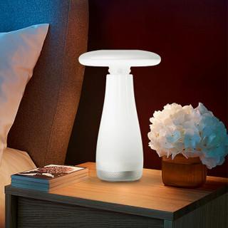 Roome智能晚安灯手势控制LED护眼台灯可调光卧室床头感应夜灯智能音乐台灯M2