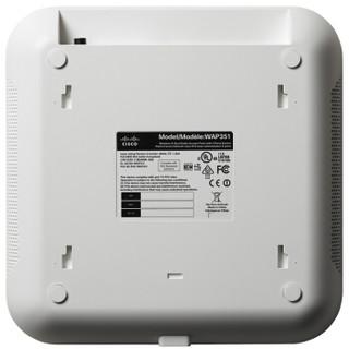 思科(CISCO)WAP351-C-K9 双频AP无线接入点+5口千兆有线接口 WEB管理