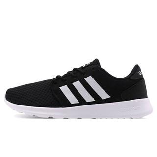 adidas 阿迪达斯 休闲系列 CLOUDFOAM QT RACER W 休闲鞋 CG5834 蓝白 37码