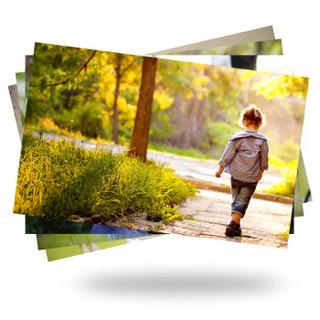 世纪开元洗照片冲印相片 晒照片 手机照片打印 富士金冠相纸光面 7寸