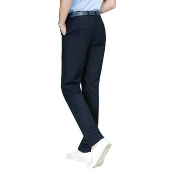 SEVEN 柒牌 中青年时尚保暖上班西裤 112B70070