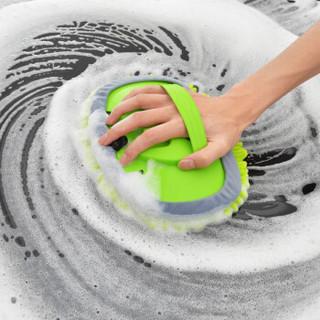 卡饰社(CarSetCity)雪尼尔长杆可伸缩洗车拖把洗车刷 汽车掸子擦车拖把洗车工具汽车用品 绿色