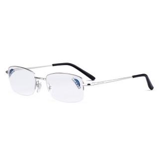 夕阳红老花镜男女通用 高清舒适 AC镀膜镜片  JX6003 200度