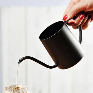 Hero手冲咖啡壶 家用挂耳咖啡手冲壶黑色350ml