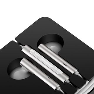 荣耀原装三键线控带麦半入耳式耳机AM116(尊爵版)适用于华为荣耀手机