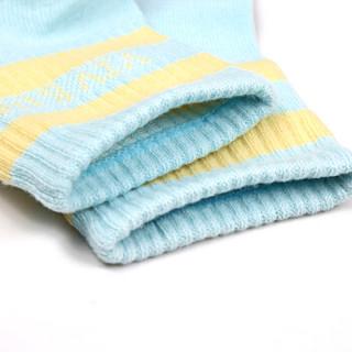 唯路易(VIV&LUL)儿童袜子 弹力舒适中筒棉袜 DV14489七色组盒装130cm