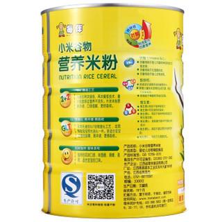 每伴小米营养米粉600g