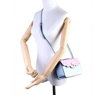 MEIDU 每度 女士单肩包 甜美花边百搭斜挎包潮流小包 MWB160676 粉色