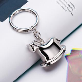 米兹MIEZ 礼物钥匙扣挂件小马铃铛钥匙圈85033情人节礼物送女友送老婆生日礼物送女生送闺蜜