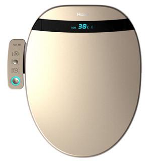 海尔(Haier)卫玺 智能马桶盖 电动坐便器盖 洁身器 即热冲洗 暖风 智能 遥控数显V3-E400