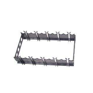 先锋连户外防暴盾牌支架子pc多功能防爆盾牌橡胶棒橡皮棍加厚支架PC棍摆放架子