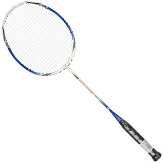 乐士(Enpex)3U全碳素 羽毛球拍 男女羽毛球 单拍 CARBON-004 白蓝