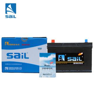 风帆(Sail)汽车电瓶蓄电池80D26L 12V 进口马自达5三菱帕杰罗·劲畅速跑 14款后比亚迪速锐 以旧换新上门安装