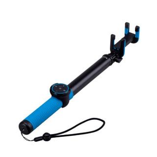 摩米士 喜乐 蓝牙自拍杆/自拍器 适用于苹果/三星/华为等 兼容苹果iOS及安卓系统 1.5m 蓝色