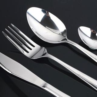吉睿 筷勺/刀叉 24件套勺叉刀西餐具套装CZ5050