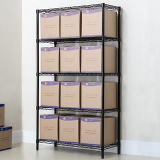 溢彩年华 置物架 五层厨房置物货架 90*45*180cm出口品质家用储物收纳架层架DKI2581