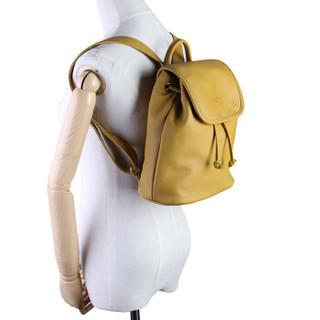MEIDU 每度 女包双肩包女韩版女士背包小清新双肩学院风学生书包MWB150766卡其色