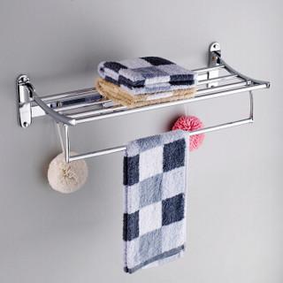 贝乐卫浴(Ballee)G1790-5 浴室五金挂件套装 卫生间置物浴巾架毛巾架五件套