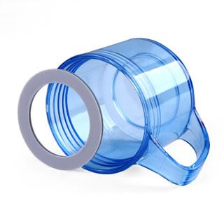 绿珠 PB1302 耐热玻璃杯 400ml 智慧蓝