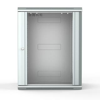 图腾(TOTEN)W2.6615 网络机柜15U 挂墙机柜 壁挂式小机柜 机架机柜 交换机机柜 灰白