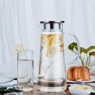 绿珠 L613 耐热玻璃杯 1.2L 透明