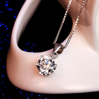 T400 S925银项链女 锁骨链 灯塔 送女友情人节生日礼物