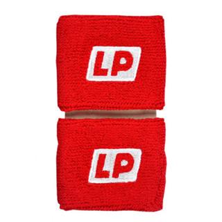 LP662护腕运动休闲型棉质手腕关节防护带 擦汗带 红色