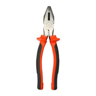 钢盾(SHEFFIELD)S044003 美式沾塑柄8英寸省力老虎钳 工业级钢丝钳子 剪切钢丝直径Φ2.0mm