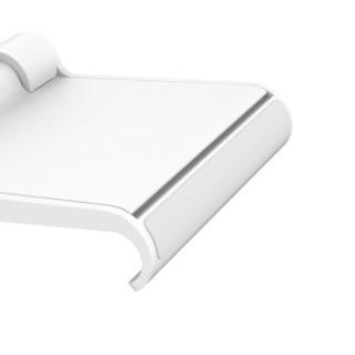 UGREEN 绿联 桌面手机支架 可调节懒人 通用支撑架30285 白色