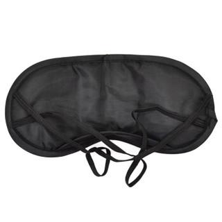 加加林JA-66户外旅行三宝 遮光眼罩 充气旅行枕 防噪音耳塞3M高档植绒面料 面料加密眼罩 深蓝色