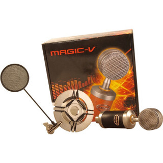 Magic-V 玛西亚 Mini 黑色 专业电容麦克风