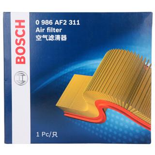 博世(BOSCH)空气滤清器0986AF2311(长城哈弗/三菱帕杰罗2.4(2003~2005)/中兴无限SUV2.4)