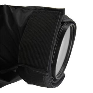 JJC RI-9相机防雨罩沙尘水套摄影遮雨衣佳能5D3 5D4 70-200mm小小白镜头尼康单反100-400mm雨披中长焦镜头