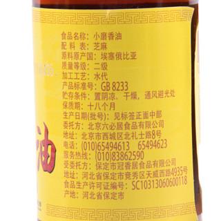 六必居 纯芝麻香油 180ml