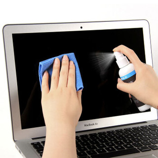 宜客莱(ECOLA)电脑清洁套装屏幕清洁剂多功能超值四件套(100ml清洁液+清洁刷+吹气球+清洁布)CD-EL140