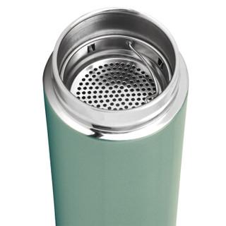 嘉鸿 君朗系列 304不锈钢保温杯 500ml 炫光青