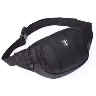 victoriatourist 维多利亚旅行者 户外运动休闲单肩胸挎斜背多功能腰包V5001黑色