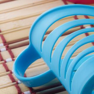茶花 纸杯托防烫塑料杯托架子 6支装 37211K
