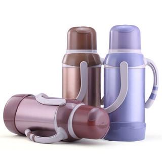 悠佳 鼎盛系列3.2L彩色不锈钢保温瓶热水瓶暖壶 开水瓶 保温壶大容量 玫瑰金 ZS-9803-M