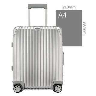 RIMOWA TOPAS系列 22寸登机箱拉杆箱 银色 923.56.00.4