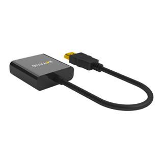博扬(BOYANG)BY-03Z01 HDMI转VGA转接线电脑高清线转换器转接头 黑色