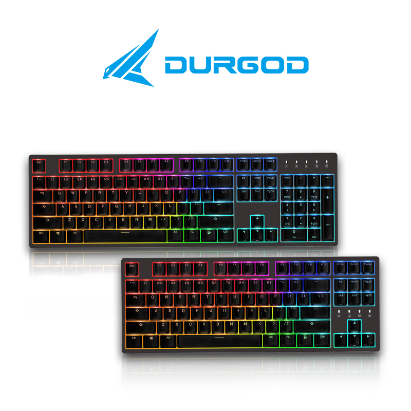 DURGOD 杜伽 K310Nebula 键盘 (银轴)