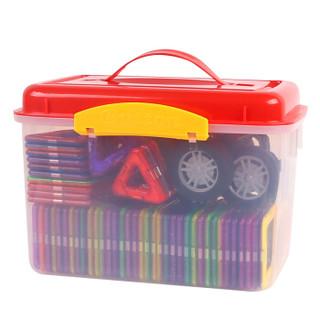 勾勾手 儿童早教益智玩具 83件套 百变提拉磁力片 立体拼插磁性建构智慧片积木玩具