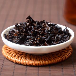 传奇会 茶叶 云南普洱茶熟茶 布朗金芽普洱茶茶饼 357g